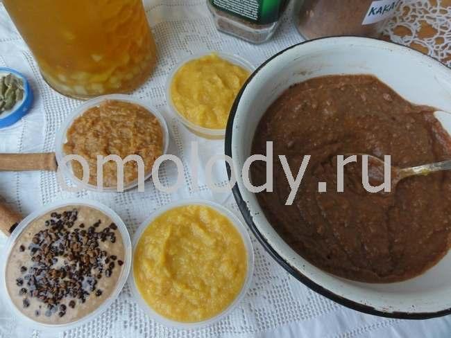 Кексы из тыквы рецепты