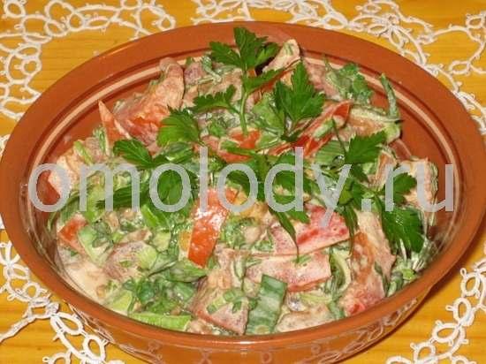 Салат фасоль в томате на зиму рецепты