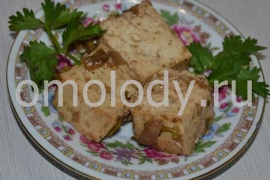 Тофу, соевый сыр в пряном соусе