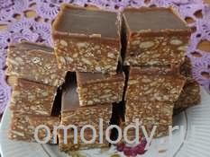 Кунжутные пирожные с какао и семечками подсолнуха