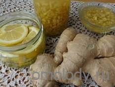 Варенье из имбиря с лимоном