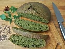 зеленый хлеб с тмином