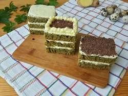 Торт со снытью с масляным кремом
