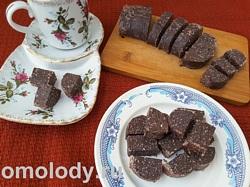 Домашние конфеты из сухого молока и какао