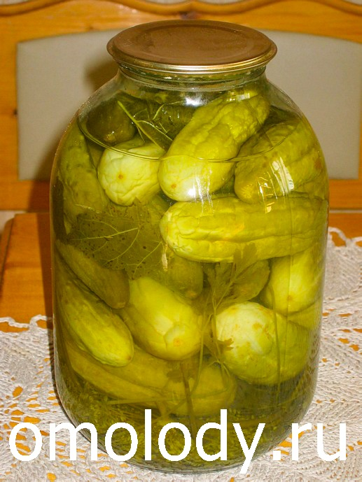 Pickles cucumbers