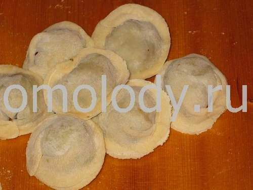Siberian Pelmeni with meat or cabbage