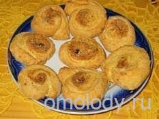 печенье овсяное с изюмом и корицей