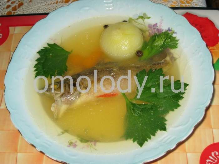 Fish broth, Uha