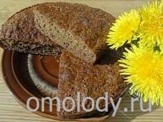Манный кекс из лепестков цветов одуванчиков