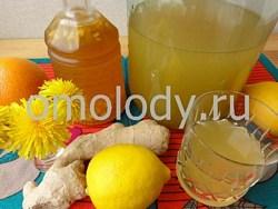 Лимонад из цветов одуванчиков рецепт